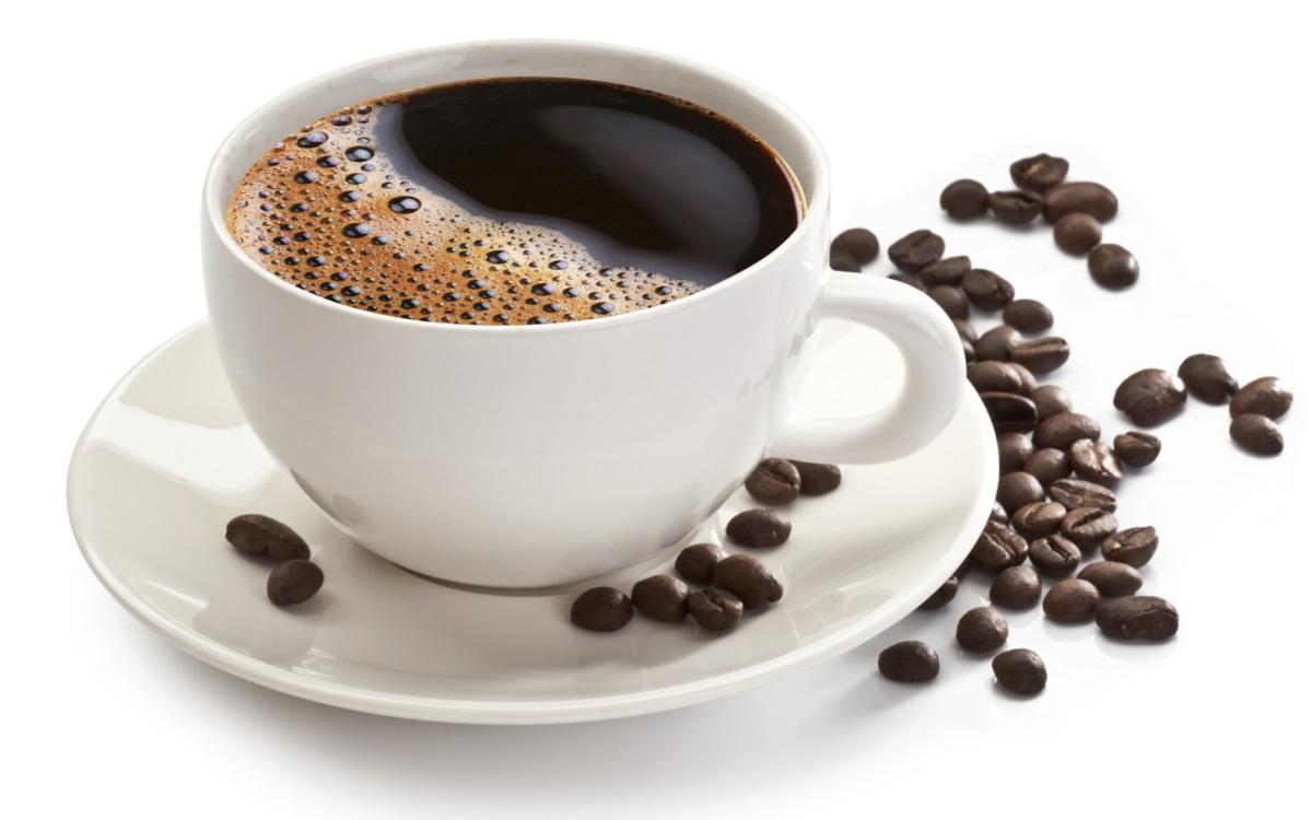 Избягвайте: Кафе<br /> <br /> Може би си мислите, че кафето, което помага да се ободрите, може да ви помогне да отвлечете вниманието си от стреса на наближаващия срок на проекта, но не всички чаши са равни. Макар че е известно, че кофеинът засилва настроението (и може да понижи риска от депресия) чрез стимулиране на активността на допамина, това химично съединение може също така да попречи на усвояването на основните балансиращи настроението хранителни вещества като витамин D и витамините от група В.