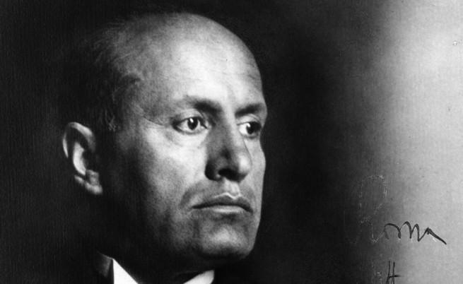 Показаха филм с участието на Мусолини