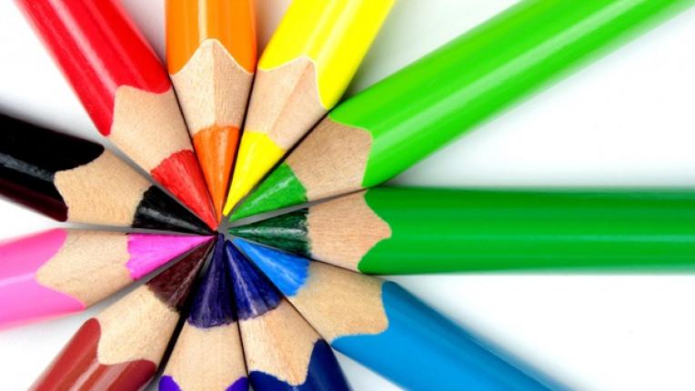 моливи оцветяване цветове