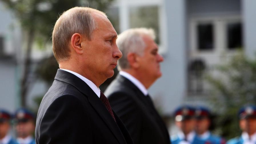 Владимир Путин и Томислав Николич