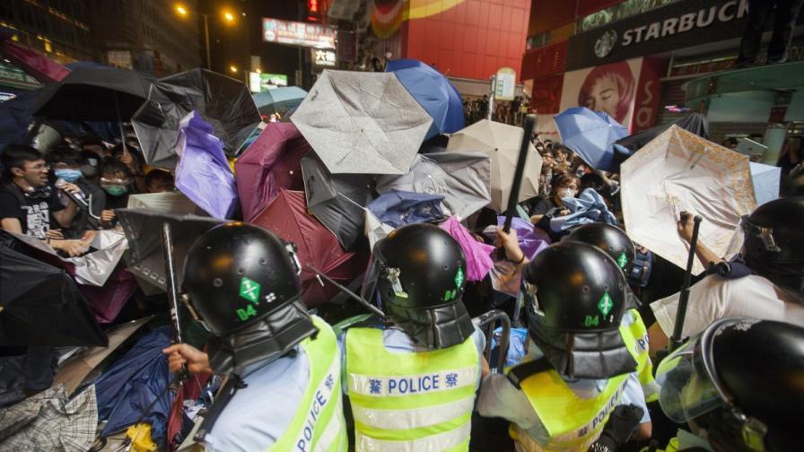 26 арестувани след нови протести в Хонконг