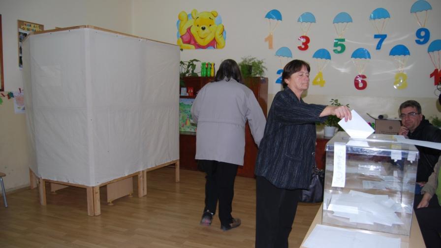 В Каспичан се провежда референдум
