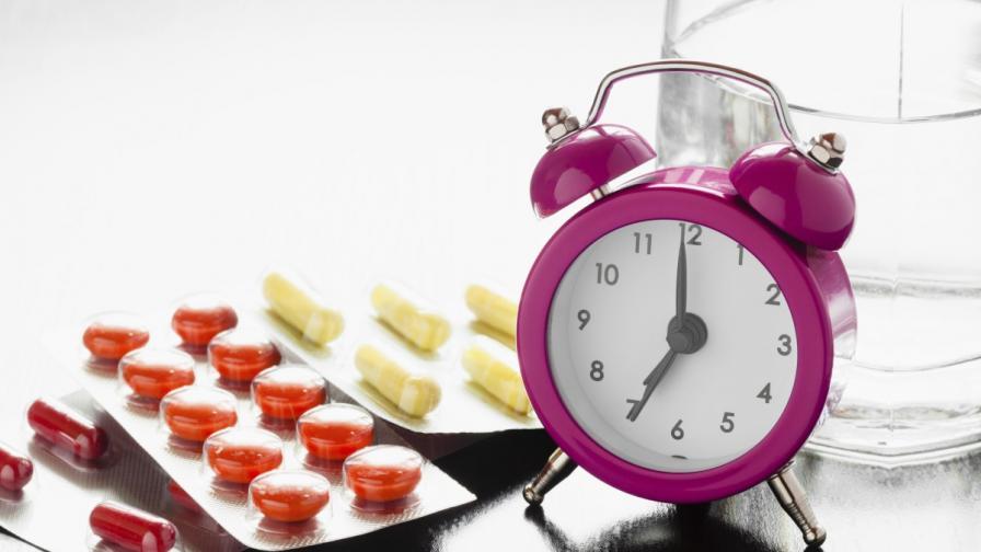 Лекарствата действат по-добре в определено време от деня