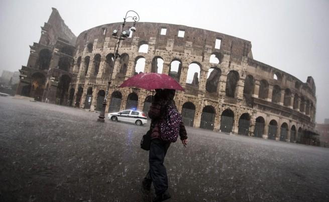 Пороите пощадиха Рим