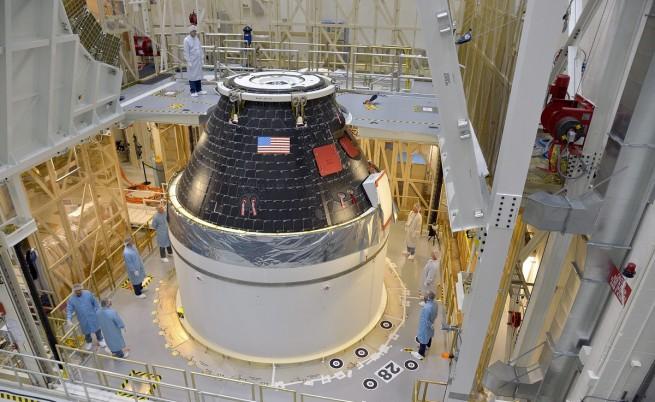 НАСА се готви за първия изпитателен полет на капсулата