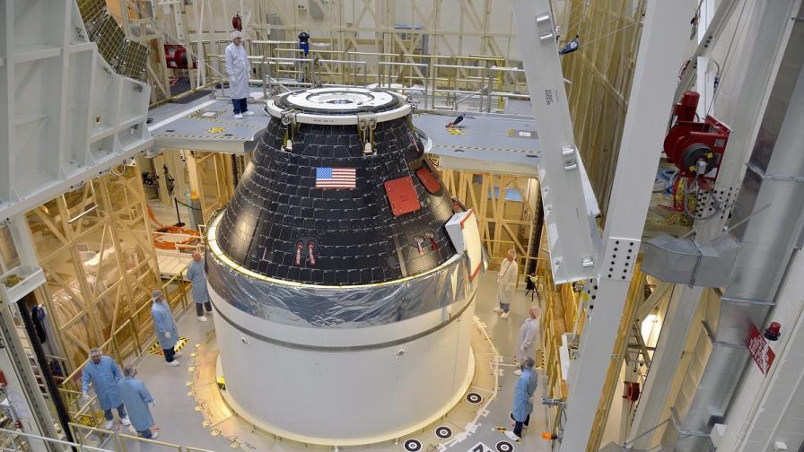 """НАСА се готви за първия изпитателен полет на """"Орион"""""""
