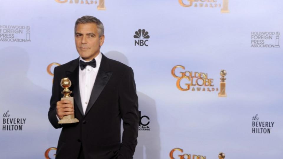 Джордж Клуни грабна тазгодишния Златен глобус за най-добра мъжка роля в драма