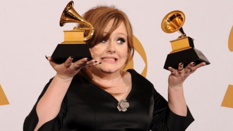 През 2009-та Адел се прибра у дома с две награди Грами