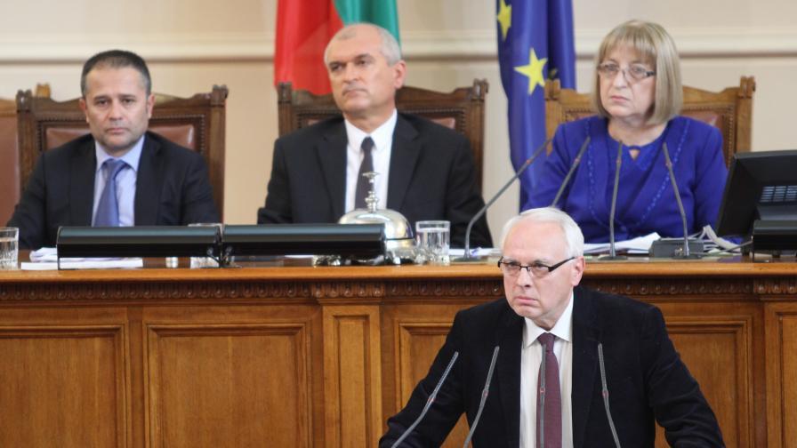 Велизар Енчев очаква да бъде изключен от групата на ПФ