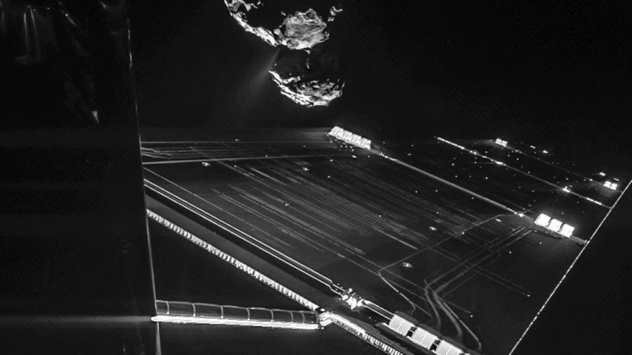 Европейският робот кацнал два пъти на кометата?