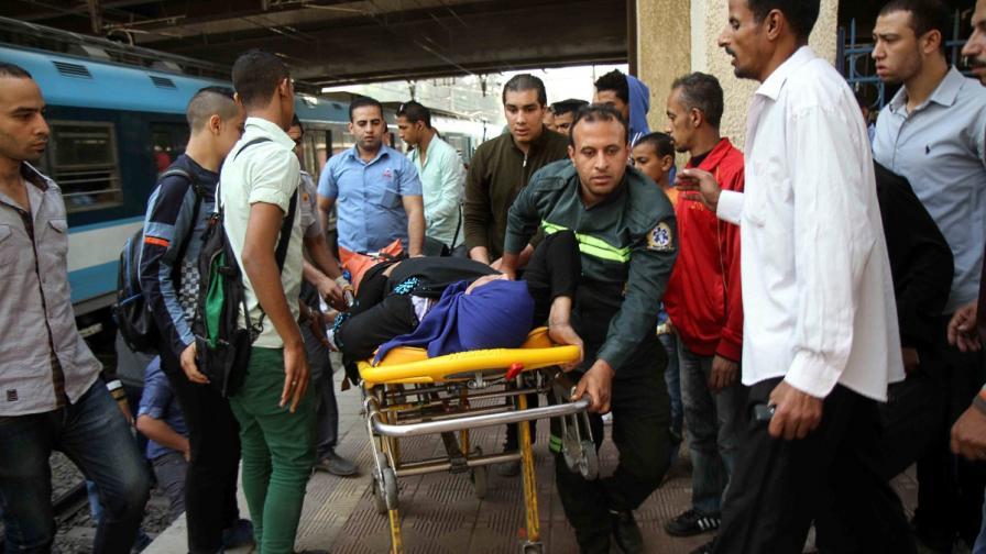 Взрив избухна в метрото на Кайро, има ранени