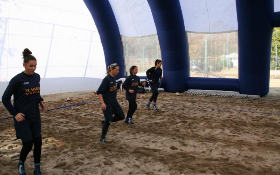 Марица отваря първия закрит корт за плажен волейбол