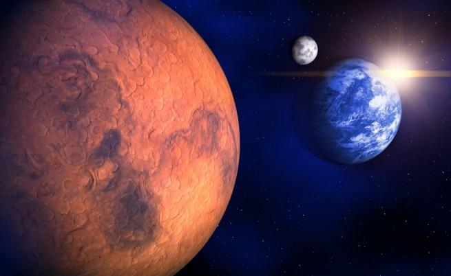 На Марс може и да е текла вода, но за кратко