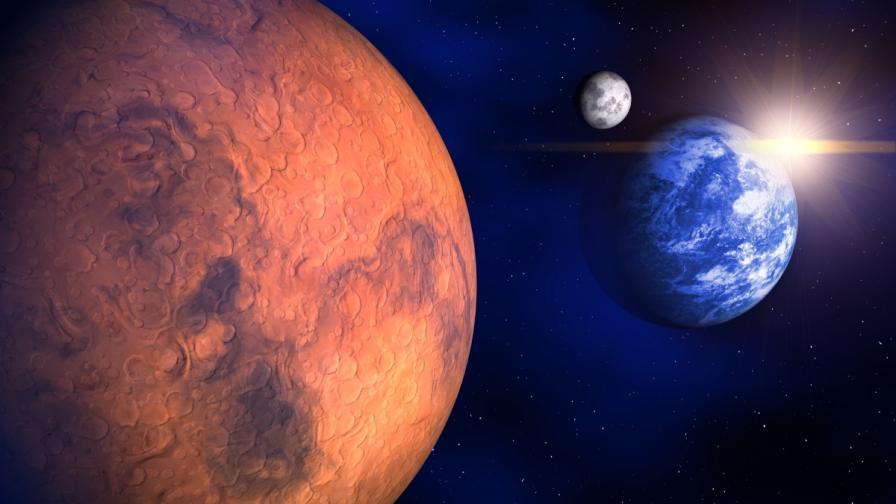 Най-старите земни организми може и да оцелеят на Марс