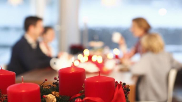 Коледа коледна украса дом декор