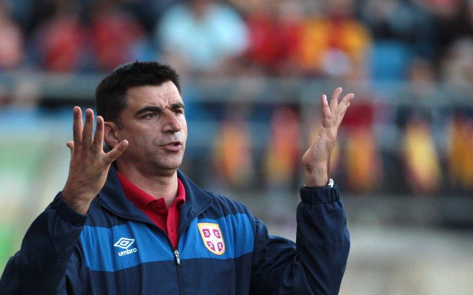 Чурчич пое националния отбор на Сърбия