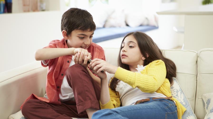 Споровете помагат на децата да се справят със стреса