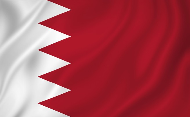 Знамето на Бахрейн