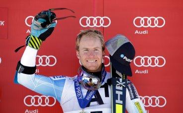 Тед Лигети е първият пристигнал за Световната ски-купа в Банско