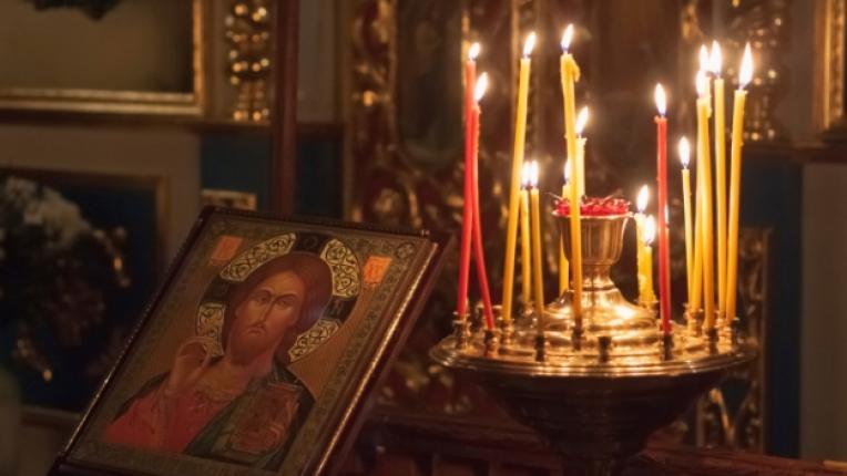 свещ църква християнство икона