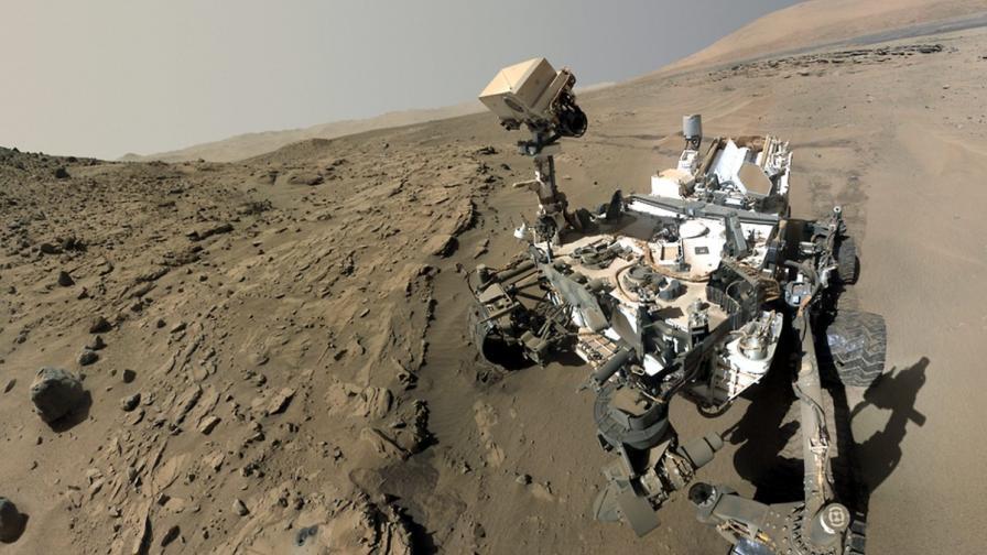 На Марс май е имало континентална кора като земната