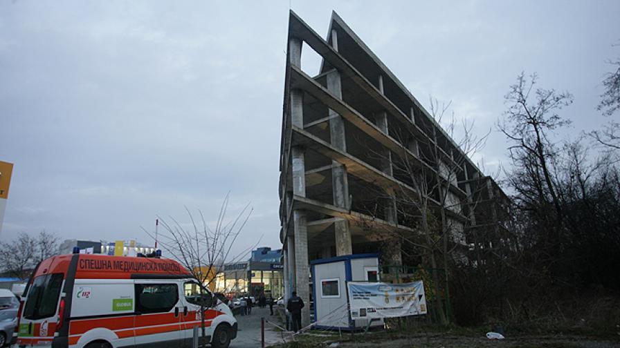 Откриха тялото на млада жена на изоставен строеж в София