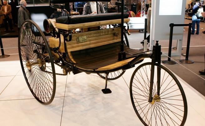 Автомобилът на Бенц от 1885 г.