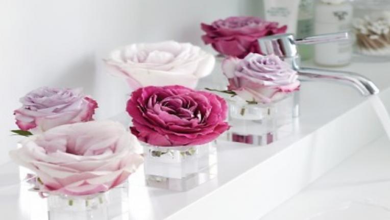 Марта Стюарт декорация ваза цветя рози