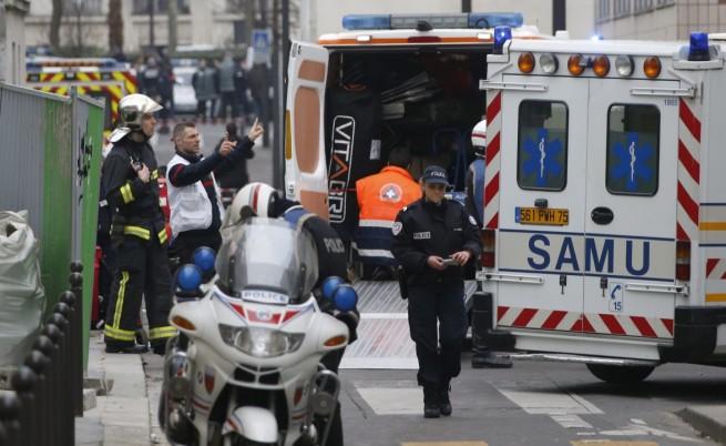12 убити при атака в редакцията на сатиричното издание
