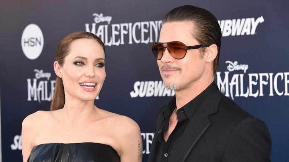 Анджелина Джоли: Брад и аз живеем в рая
