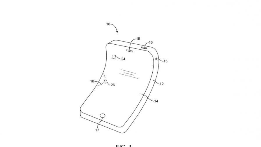 """""""Епъл"""" ще може да прави телефони, които се огъват – този път нарочно"""