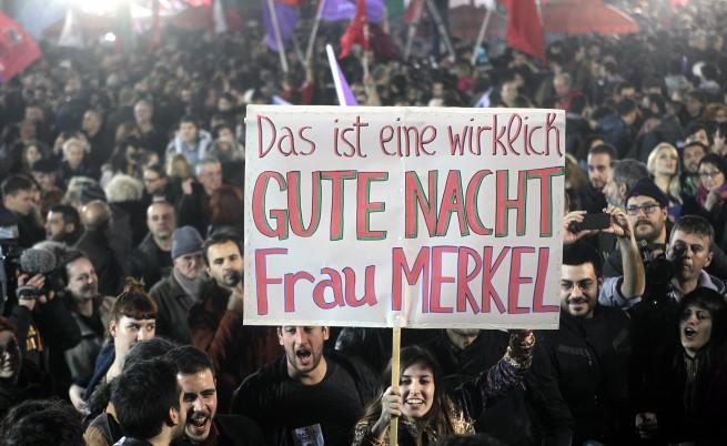 Това наистина е лека нощ, госпожо Меркел