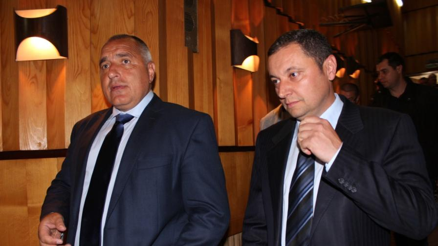 Яне Янев и Бойко Борисов