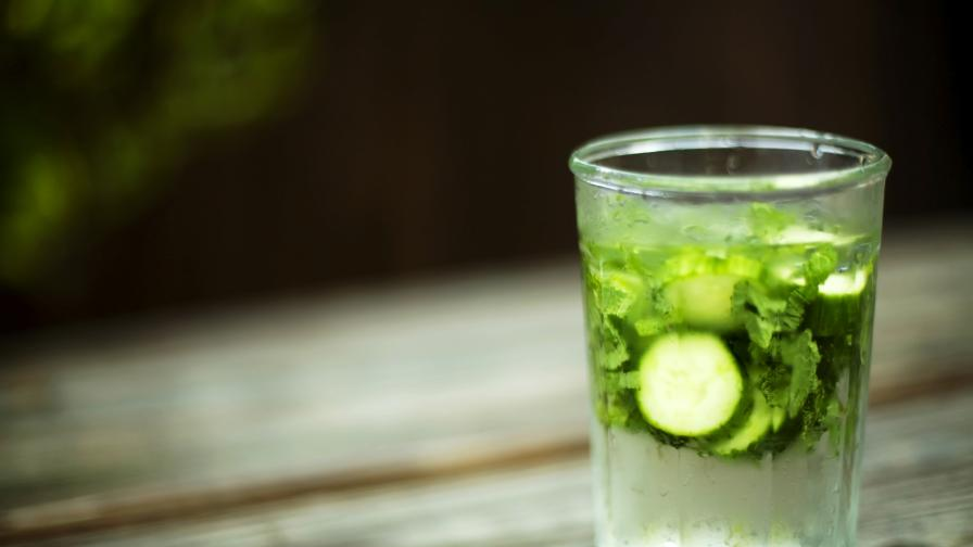 Супер напитка – вода с краставица. Или 6 полезни нейни свойства
