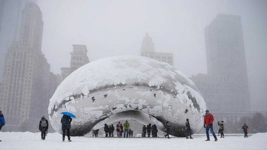 Нова снежна буря връхлетя САЩ