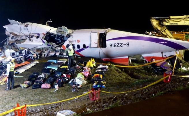 Двигател на падналия в Тайпе самолет е бил сменен