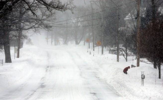 Нова зимна буря ще удари САЩ