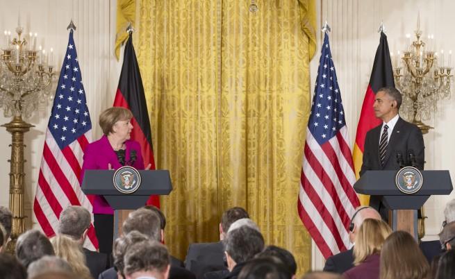 Обама: Русия не може да прекроява границите на Европа със силата на оръжията