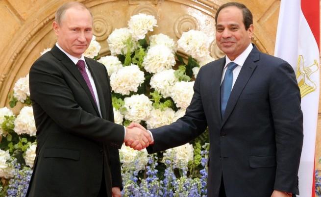 Русия ще строи ядрена централа в Египет