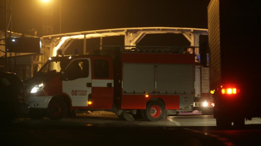 <p>Автобус с туристи се запали край бургаско село</p>