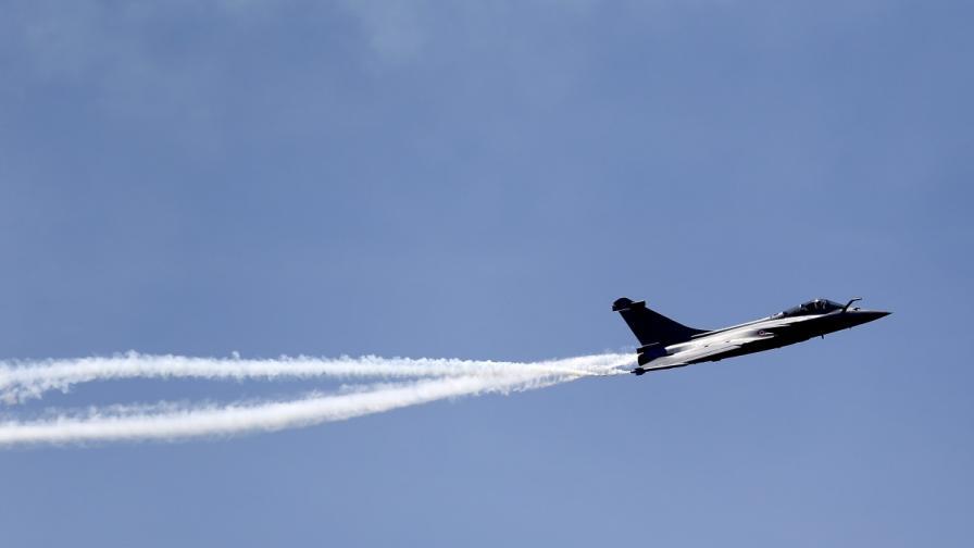 Испански самолет на НАТО изстреля погрешка ракета над Естония