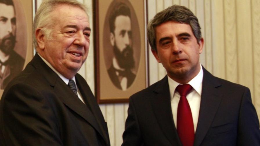 Борислав Борисов и Росен Плевнелиев