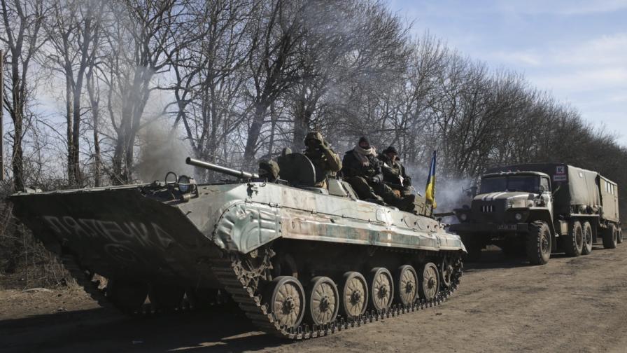 Киев: Ще изтеглим тежките оръжия едва след пълно прекратяване на огъня
