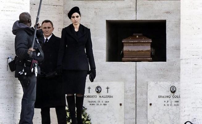 Даниел Крейг и Моника Белучи