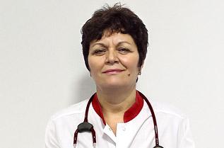 Д-р Елена Урдеа, специалист кардиолог, Букурещ