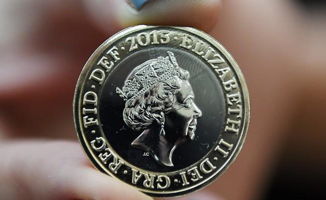 Нов портрет на кралица Елизабет II върху британските монети