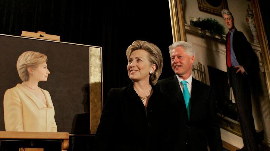 Бил и Хилари Клинтън