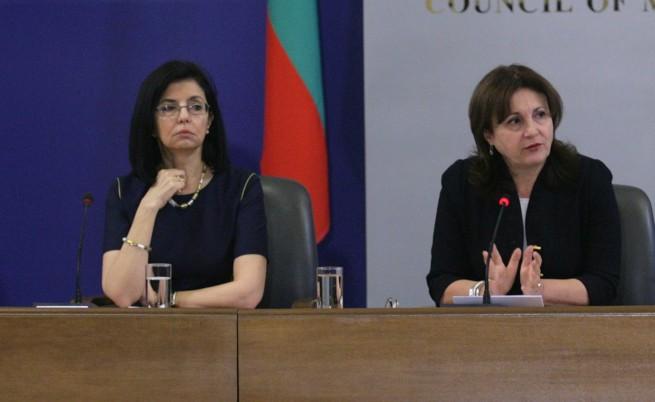 Кунева се размина с Бъчварова за оставката на Вучков