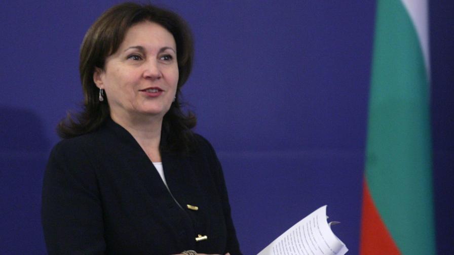 Вицепремиерът Румяна Бъчварова