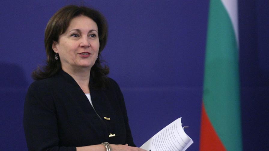 Гласуват Румяна Бъчварова за вътрешен министър